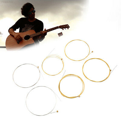 4199 6pcs Steel Rainbow Strings For Acoustic Electric Guitar 150XL 0.813 1.016 1