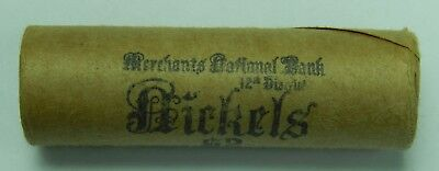 Buffalo V Nickel Roll Liberty Nickels 5c Lot P Mint & 1935 Ends Old US Coins 11