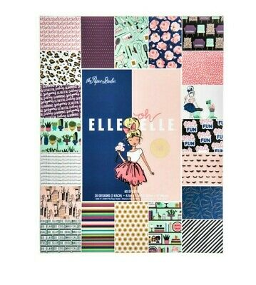 Elle Oh Elle 8.5x11 Paper Pad by The Paper Studio Fashion Girl Boss Planner