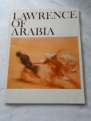 Lawrence of Arabia Film Booklet--1962 Columbia Pictures Corporation