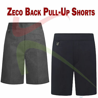 Zeco New School Uniform Elastic Back Pull-Up Schoolwear Boys Shorts 2/3 to 7/8