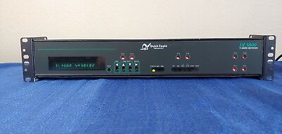 Quick Eagle Networks DL3800 Dl 3800 T1 Inverse Multiplexer 325-00380-37