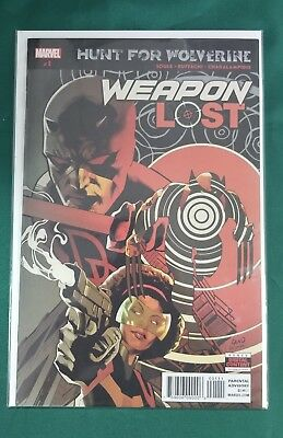 Hunt For Wolverine Weapon Lost #1 (Of 4) Marvel Comics Near Mint 5/2/18
