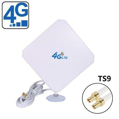 35dBi 4G LTE Dual MIMO Antenna Booster Aerial TS9 Plug Cable For Huawei BI622 UK