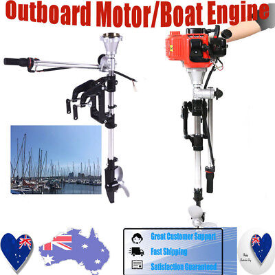 2-Stroke Outboard Engine 3.5HP Petrol Power Fishing Boat Engine Motor CDI System