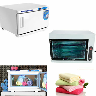 9/16L UV Towel Steriliser Warmer Disinfection Cabinet Heating Spa Tool