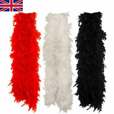 2M Feather Boa Strip Fluffy Craft Costume Fancy Dress Party Hen Night Hot Beauty