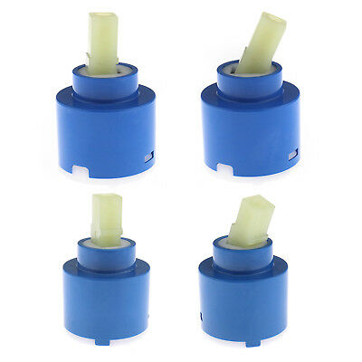 Plastic Ceramic Disc Cartridge Tap Replacement Valve 35/40mm Lever Mixer Tap