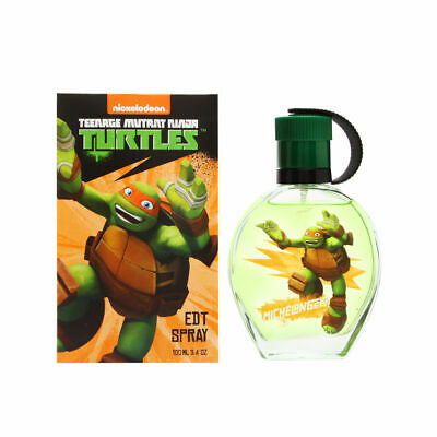 Teenage Mutant Ninja Turtles Michelangelo by Marmol Son for Kid 3.4 oz EDT Spray