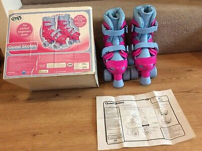Girls adjustable Quad Skates size 13-2