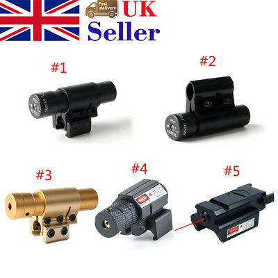 Red Dot Laser Sight 10mm-20mm Rail Picatinny Mount For Airsoft Pistol New