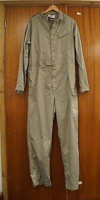 """Coverall British RAF Royal Air Force Lightweight Stone 6'3"""" - 43"""" chest"""