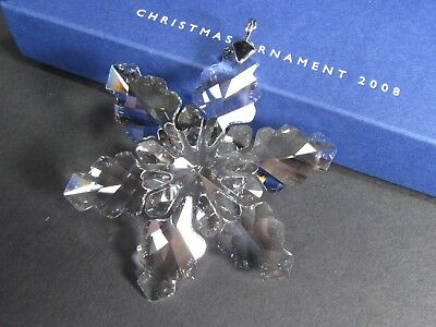Swarovski Annual Edition Christmas Ornament 2008 Mib #942045