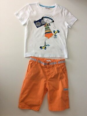 Little Marc Jacobs Biys Outfit, Set, Size Age 6 Years, 116 Cm Shorts T Shirt