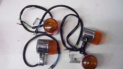Retro Blinker Orange Skyteam Skymax PRO 4er SET 12V  Skyteam Honda Monkey Dax