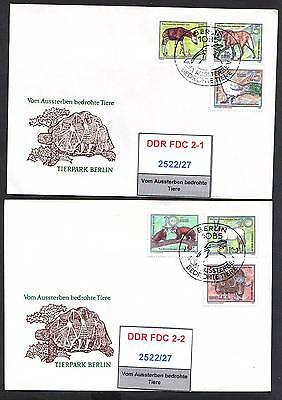 DDR, FDC 2522/27 gestempelt, s.scan