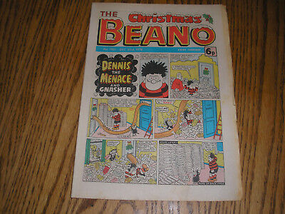 the beano comic 23 december 1978, 40th birthday present