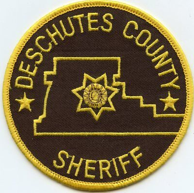 Deschutes County Oregon Or Sheriff Police Patch