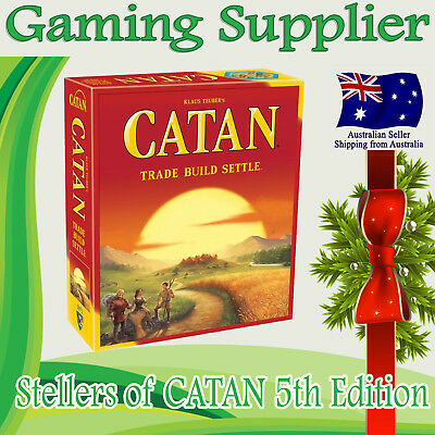 Brand new Settlers of Catan 5th edition Family Board Game Core Set Extension