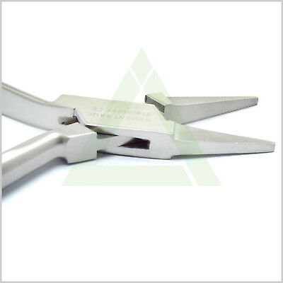 Dental Flat Nose Pliers Utillity Conical Jewellery Making Ortho Laboratory Tools