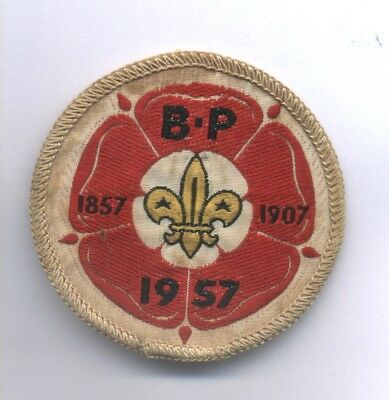 SCOUT Distintivo del 9° world Jamboree 1957 Partecipant