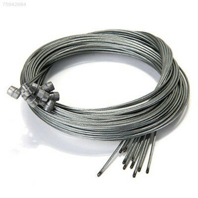 4A1B 10Pcs 1.75M Road Bike Bicycle Brake Inner Wire Cable Line Stainless Steel
