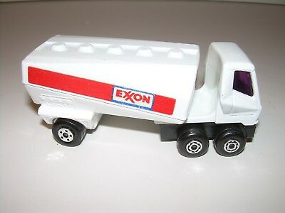 Vintage Lesney Matchbox SUPERFAST #63 EXXON FREEWAY GAS TANKER - car only NO BOX