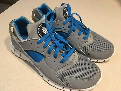 14054c30a06d3 NIKE HUARACHE FREE 2012 Court Green White Tour Yellow Sz 11 (0213 ...
