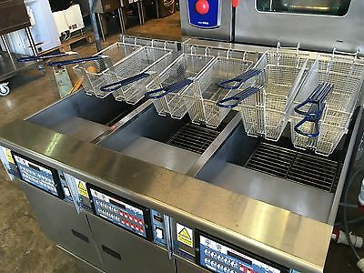 PITCO - 6 BASKET HIGH OUTPUT CHIPS FRYER .  ( FREE UK Delivery )