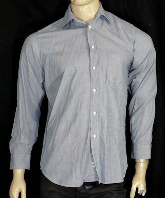 60adb7890577 BURBERRY Taille 38 S Superbe chemise manches longues homme vert gris shirt