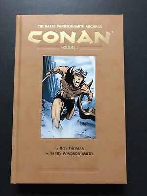 Barry Windsor-Smith Conan Archives #1 & 2 (2010 First Print) Hardbacks