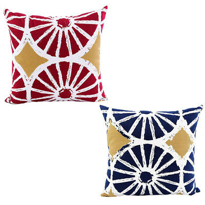 Square Decorative Pillows Covers Cushion for Couch 18x18 inchg, Geometric S5L1
