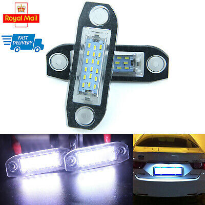 LED License Number Plate Light Lamp Bulbs for Mercedes Benz W204 W221 W212 W216