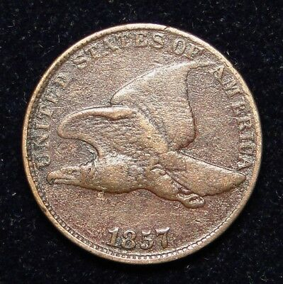 1857 Flying Eagle Cent Old U.s. Type Coin