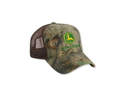 a282732018269 Men s John Deere Advantage Timber Camo Hat   Cap w  Mesh Back - LP52415