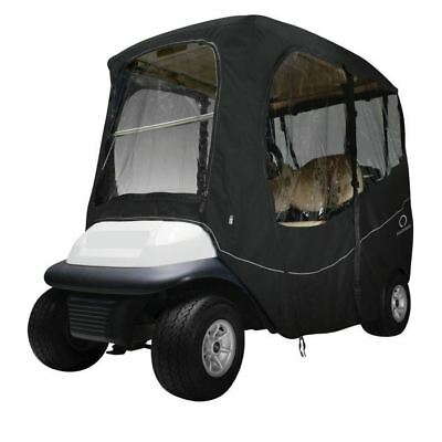 Fairway Deluxe Golf Buggy Enclosure Cover Short Roof Black