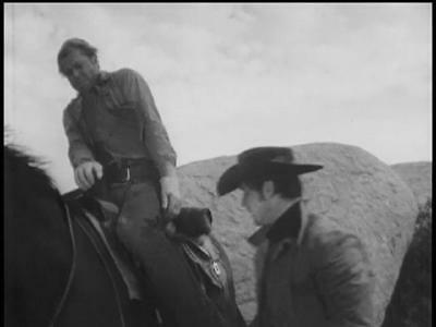 Two For The Gallows From Laramie.4 B/w 4 X 6 Photos.robert Fuller.#pdvd-2297.