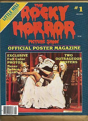 Rocky Horror Picture Show Poster Magazine #1 1979 rare item mag