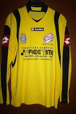 Maglia Virtus Lanciano Lotto Indossata Match Worn Issued Serie B C1 C2 Lega Pro