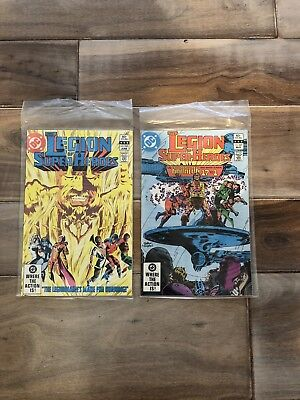Legion of Super-Heroes 1980 series # 287 And 288 fine comic book