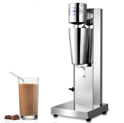 Commercial Milkshake Maker Machine Stainless Steel Frother Cup Smoothie Mixer