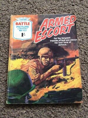 Battle Picture Library #427 1969