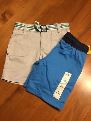 New Toddler Boys Genuine Kids Oshkosh & Cat And Jack Shorts 4T-5T