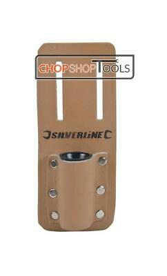 Riveted Leather Scaffold Spanner Tool Belt Holder Podger Single Frog 783162