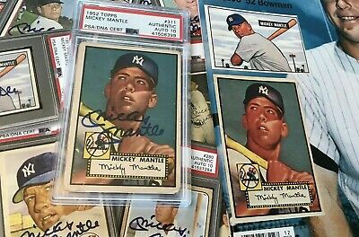 Baseball Estate Lot Packs +2 FREE Auto Graded+ Jordan, Mantle, Griffey 450 Card