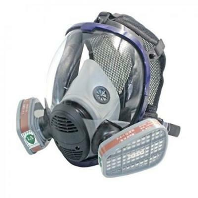 Full Face Gas Mask Anti Organic Gas Safety Mask for Industry Painting BT