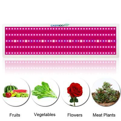 CASTNOO 2000W LED Grow Light Full Spectrum Indoor Hydro Veg Flower Grow Panel BT