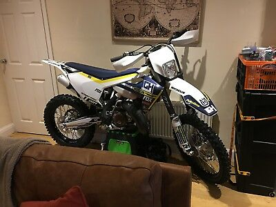 Husqvarna husky TX125 Enduro. 2017 model. Very low hours (26hrs). Ready for road