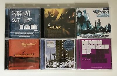 DRUM & BASS COLLECTION - 6 x CD NEW Bundle - Urban Takeover Full Cycle Viper DnB