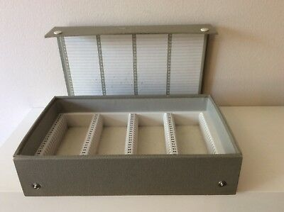 Vintage Grey Slide Case For Projector Slides